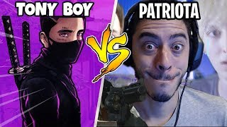 PATRIOTA vs TONYBOY - FORTNITE