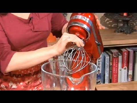 How To Use Kitchenaid Mixers Sweet Recipes Youtube
