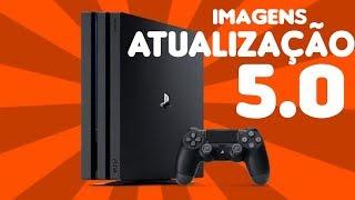 Atualização PS4 5.0 PT-Br ~imagens oficiais~
