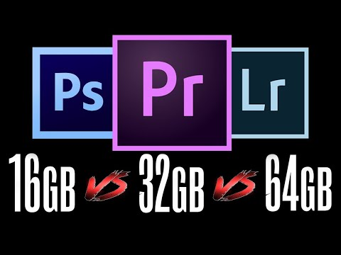 16GB Vs 32GB Vs 64GB RAM Test - HOW MUCH RAM DO YOU NEED?