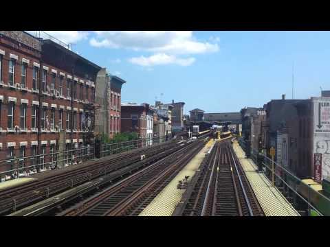 NYC Subway Special: R1-R9 M train RFW from Essex St to Metropolitan Av