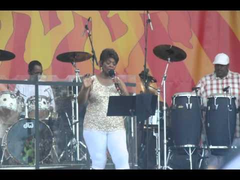 irma thomas, forever young, jazz fest 2012