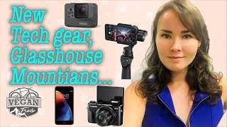 New Tech gear, sunset at Glass House mountains, trial run of DJI Osmo steady cam VLOG