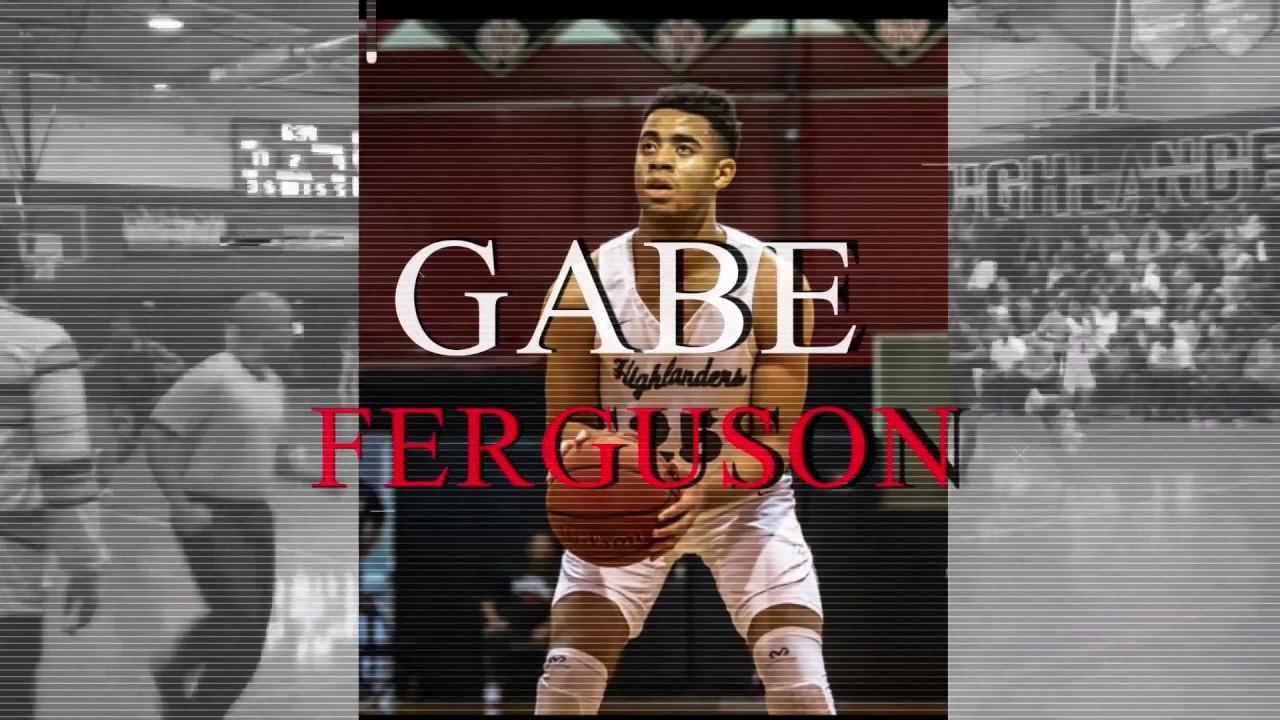 Gabriel Ferguson Junior Year Highlights (6'7 2021) - YouTube