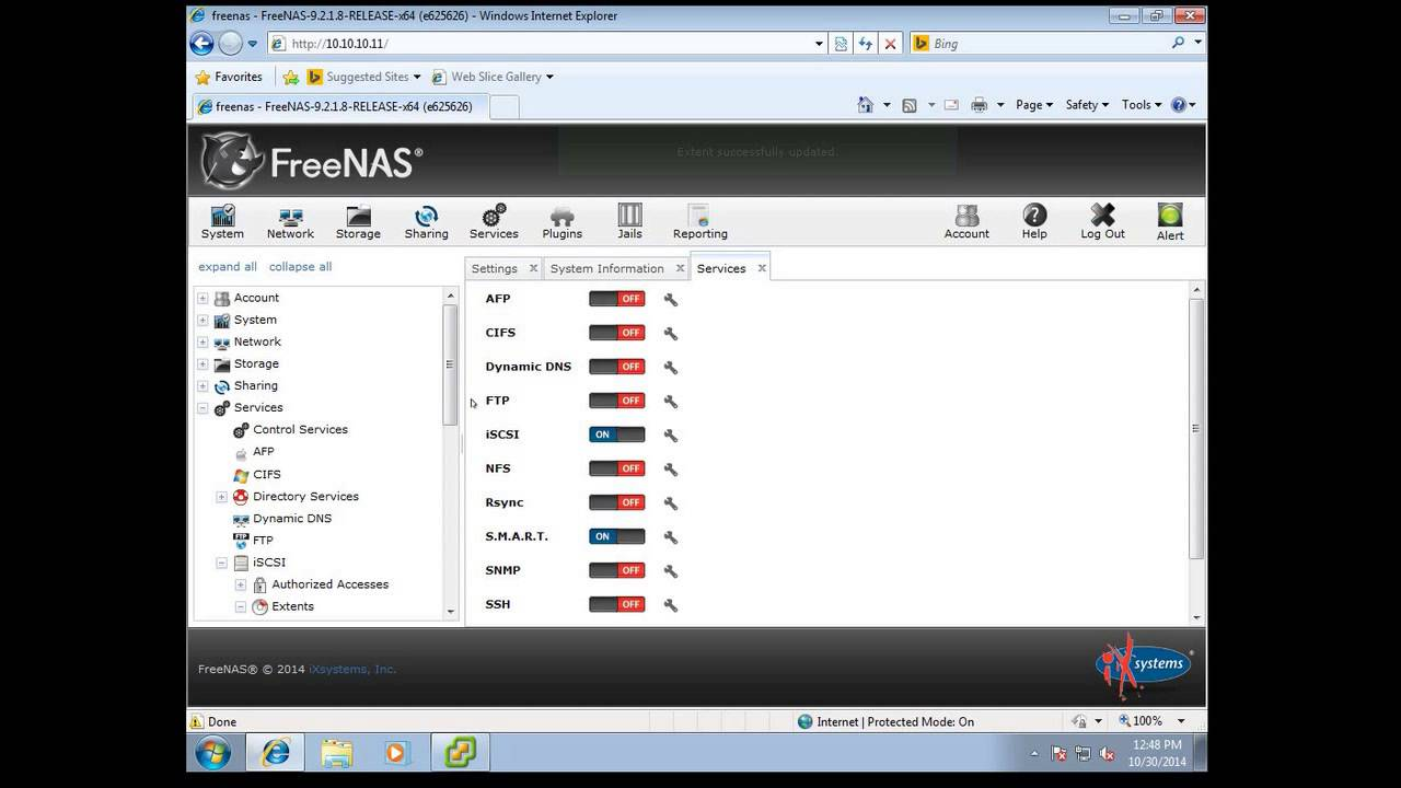 Connecting ESXi to FreeNAS with iSCSI