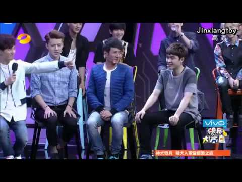 [Thai sub] 140705 Happy camp - EXO Captain Hook game cut