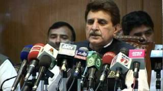 PM AJK Raja Farooq Haider Khan Resignation Report By Hammad Apna News.mpg
