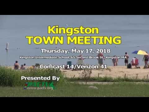 #KingstonMA Town Meeting DAY 3: May 17, 2018