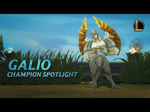 Galio Champion Spotlight | Gameplay - League of Legends