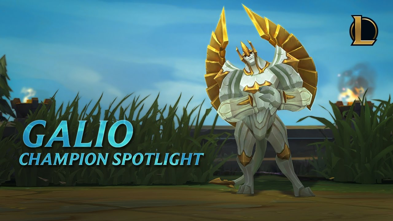 Galio Champion Spotlight | Gameplay - League of Legends - YouTube