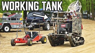 Go Kart TANK + Epic Riding | Mini Mayhem Spring 2019