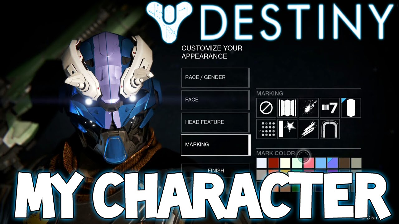 Destiny  Hunter Exo Cu...