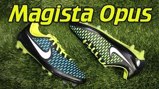 new styles 06b2f ddfdf good nike magista opus black blue 9fef4 55063