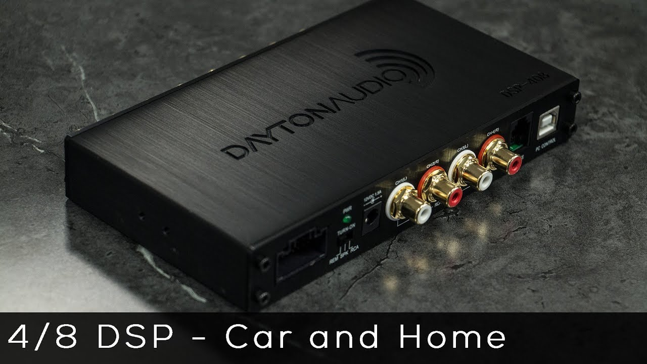 Dayton Audio 4 in 8 out DSP with Bluetooth - Product Spotlight
