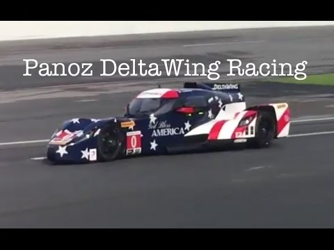 Panoz Deltawing Flies again America the Beautiful  YouTube