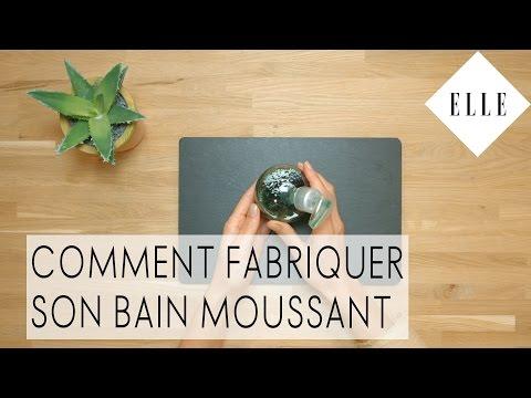 DIY : comment fabriquer son bain moussant I ELLE Beauté