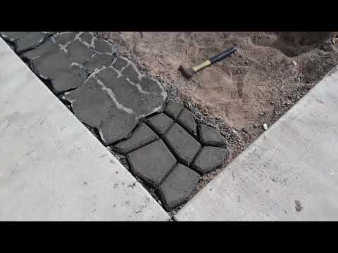 Easy DIY Patio Project | Cement Molds