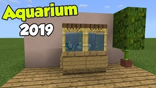 How to Make an AQUARIUM (No Addon, No Mod, No Redstone) | Minecraft PE