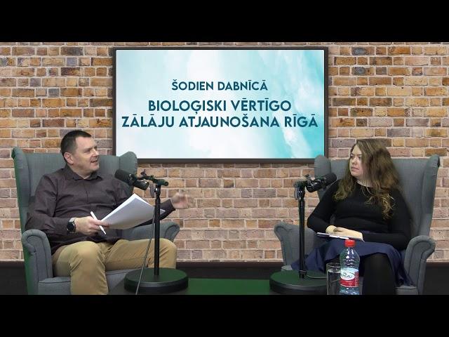 DABNĪCA 2020: Bioloģiski vērtīgo zālāju atjaunošana Rīgā