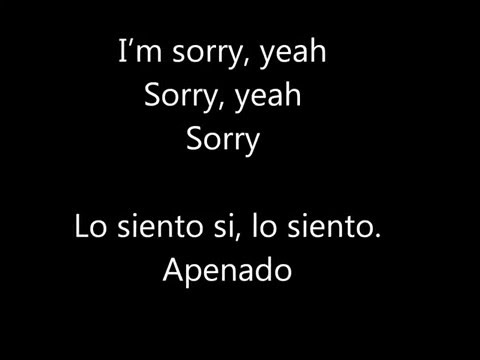 Justin Bieber - Sorry ft. J Balvin (Lyric...