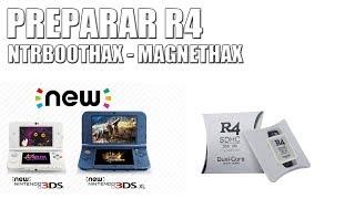 TUTORIAL PREPARAR R4 PARA NTRBOOTHAX - MAGNETHAX