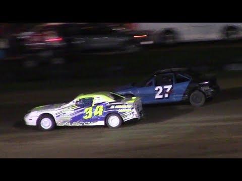 Mini Stock Heat Three | McKean County Raceway | 9-30-17