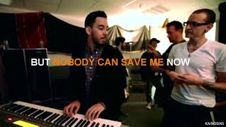 Linkin Park - Nobody Can Save Me (Lyric Video)
