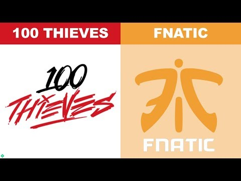 100 Thieves Vs Fnatic - Worlds 2018 Group Stage Day 2 - 100T Vs FNC