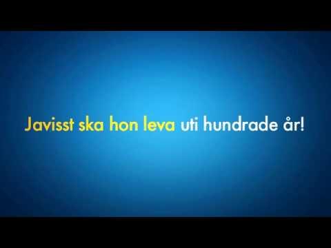 Feliz cumpleanos en sueco como se dice