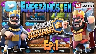 THE BEST DECK | MALLET TO START IN CLASH ROYALE | We started Ep.1