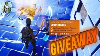 FORTNITE / SAVE THE WORLD - GIVEAWAY (130 ENERGY GRAVEDIGGER)