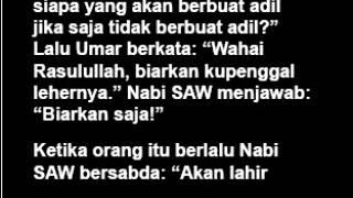 Paham Salafi Wahabi Sudah Ada di Zaman Nabi SAW