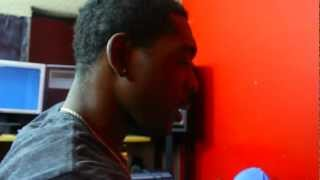 "Datlink AKA Dred Making a Beat "" The advantage"""