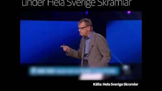Hans Rosling tal på Hela Sverige skramlar