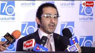 بالفيديو.. أحمد حلمي: عمري ما هتأخر عن أطفال سوريا