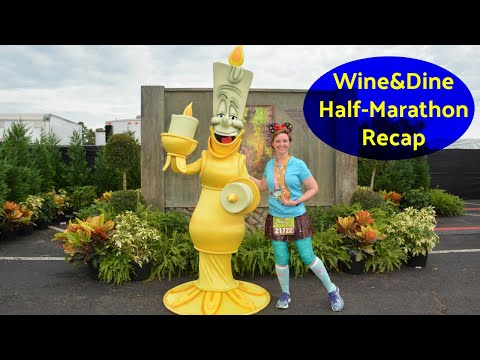 RUNDISNEY WINE & DINE HALF MARATHON RACE RECAP