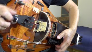 Chain Dance. Medieval Dance. Hurdy-Gurdy, Organ & Drum