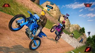 OFFROAD BIKE RACING GAME 2020 #Dirt MotorCycle Race Game #Bike Games 3D For Android #Games Android