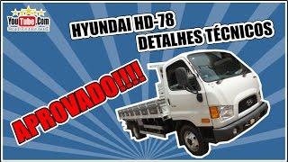 HYUNDAI HD 78 CARROCERIA DE MADEIRA DETALHES TCNICOS смотреть
