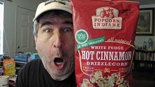 White Fudge Hot Cinnamon Drizzlecorn Review