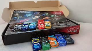 Обзор набора Тачки 3 гонщики Mattel 2018 с Дэном Карсиа.