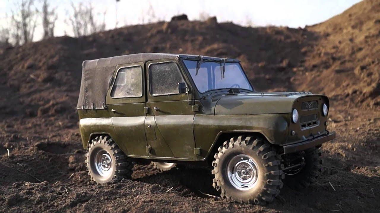УАЗ 469 RC Модель Full Metal 5 - YouTube