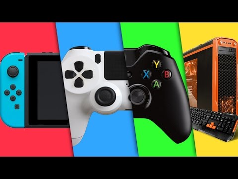 What is the Best Gaming Platform for You? | PS4 Xbox One PC Switch