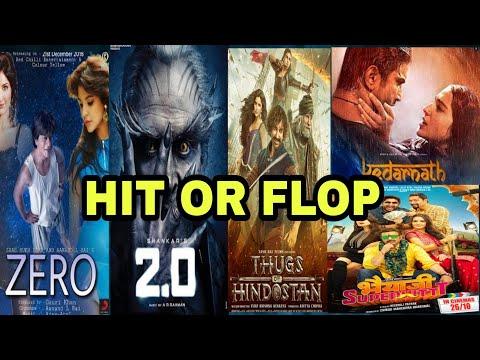 Hit Or Flop | Box Office Collection Of Zero, Kedarnath, 2.O, Bhaiyaji Superhit, Thugs Of Hindostan Mp3
