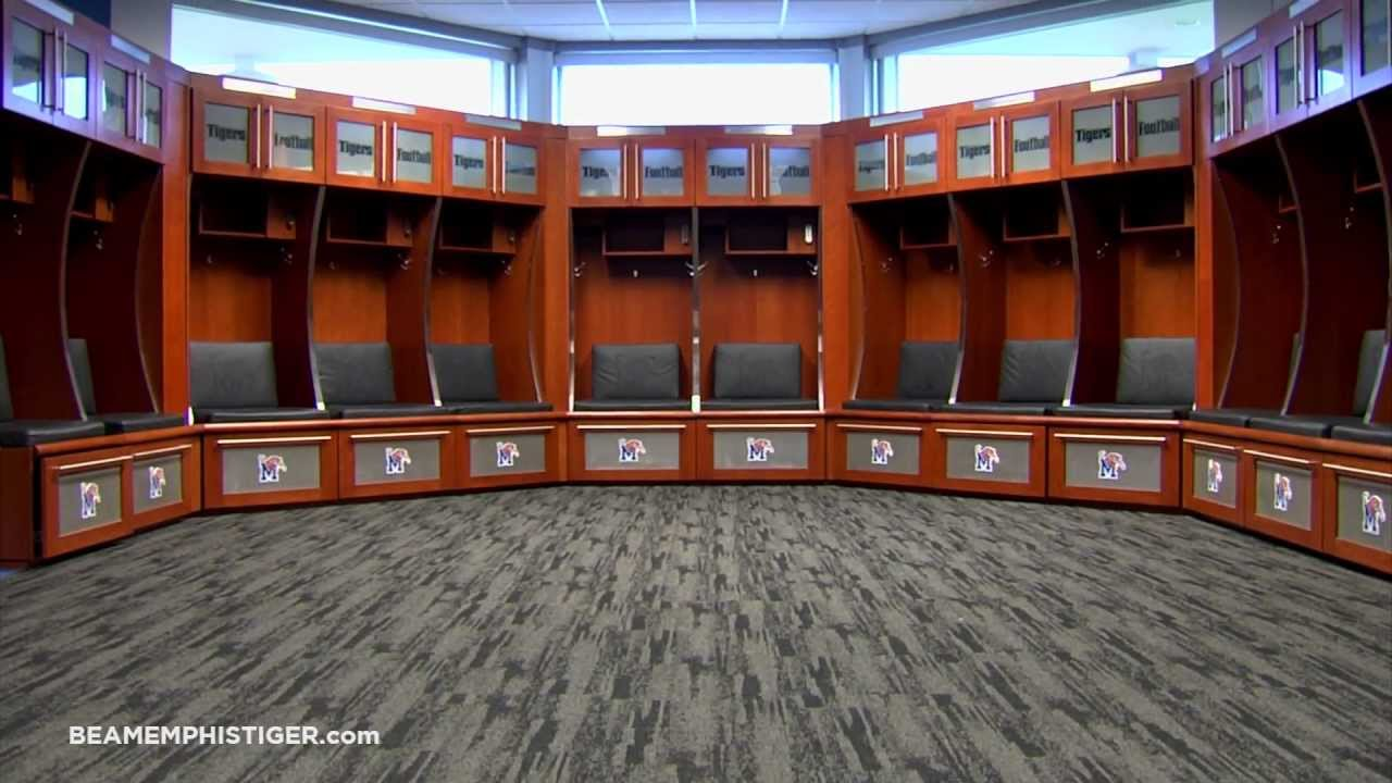 University Of Alabama Football Locker Room
