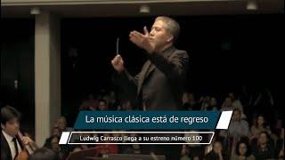 El Director Titular de la Orquesta de Cámara de Bellas Artes, Ludwig Carrasco, realizará su estreno número 100.  No olvides visitar EL UNIVERSAL PUEBLA   https://www.eluniversalpuebla.com.mx  Dale like a nuestra página de Facebook https://www.facebook.com/ElUniversalPuebla/  Síguenos en Twitter https://www.twitter.com/universalpuebla