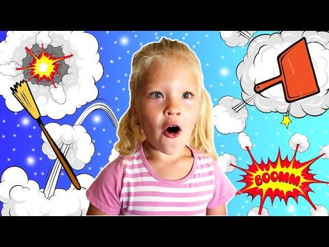 МАМА В ШОКЕ ! Как Лера убиралась в комнате Веселый Скетч для детей /BeeBeeDi