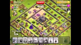 Clash of clans jorge yao attack