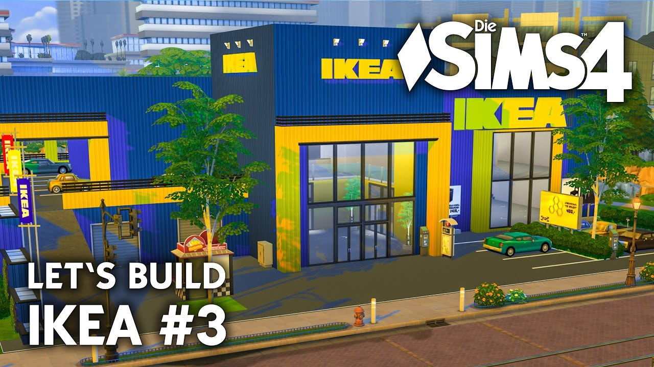 die sims 4 ikea bauen | handel #3 let's build mit ikea cc-objekten, Badezimmer ideen