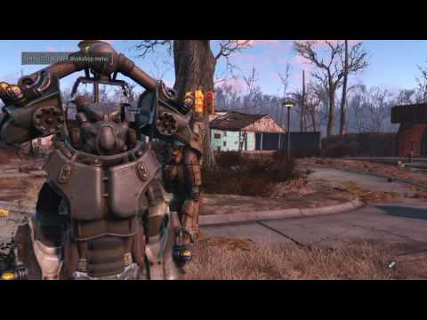Fallout 4 Power Armor glitch